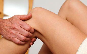 Masáž dolních končetin a lymfodrenáž