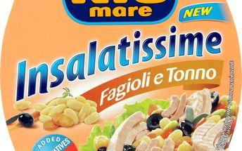 Rio Mare Insalatissime Tuňákový salát s fazolemi 160g