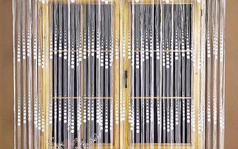 4Home provázková záclona EVITA, 90 x 180 cm