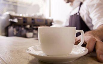 2 kávy a věneček v kavárně Cafe Pohoda Jazz