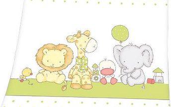 Herding Dětská deka Luis Animals, 75 x 100 cm