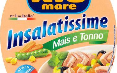 Rio Mare Insalatissime Tuňákový salát s kukuřicí 160g