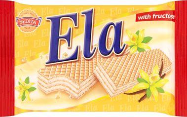 Sedita Ela Oplatky s vanilkovou příchutí a fruktózou 40g