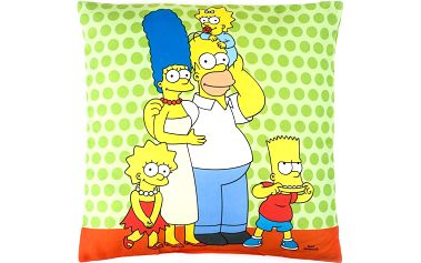 Jerry Fabrics Polštář The Simpsons 2015 40x40