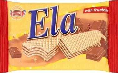 Sedita Ela Oplatky s čokoládovou příchutí a fruktózou 40g