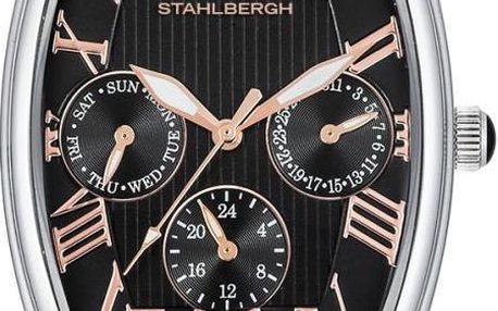 Unisexové hodinky Sundsvall Black/Black - doprava zdarma!