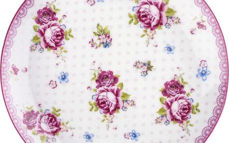 English Rose dezertní talíř 20 cm