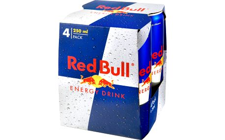 Red Bull Energy drink 4 × 250ml