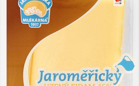 Jaroměřický Uzený Eidam 45% plátkový sýr 100g