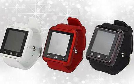 Smart hodinky s bluetooth a množstvím moderních funkcí. Poštovně v ceně!
