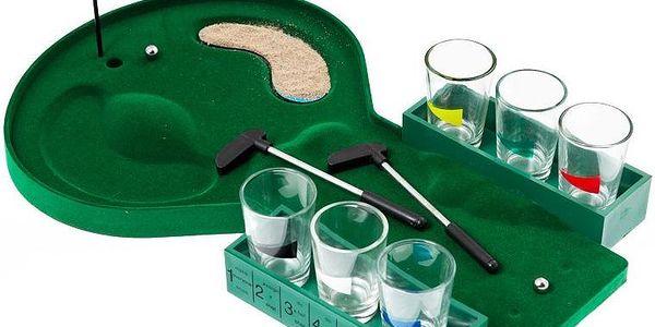 Alkoholový golf - hra