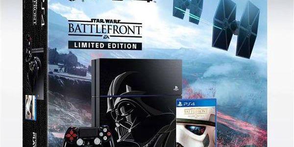 Sony PlayStation 4 1TB + Star Wars: Battlefront _limitovaná edice (PS719864042) + + dárek Hra Sony PlayStation 4 Minecraft (zdarma) + Doprava zdarma