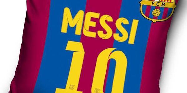 Tip Trade Polštářek FC Barcelona Messi 2, 40 x 40 cm,