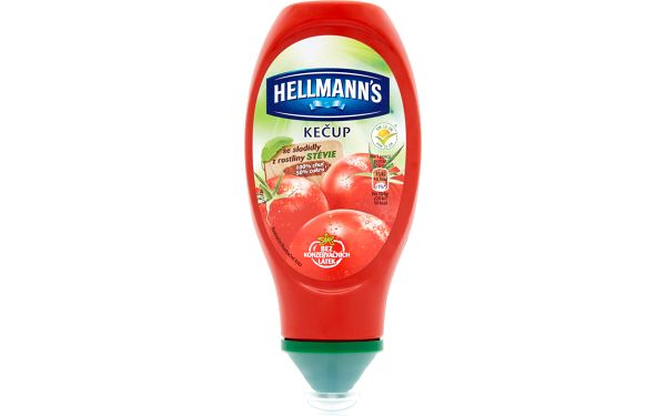 Hellmann's Hellmann's Kečup se sladidly z rostliny Stévie 450g