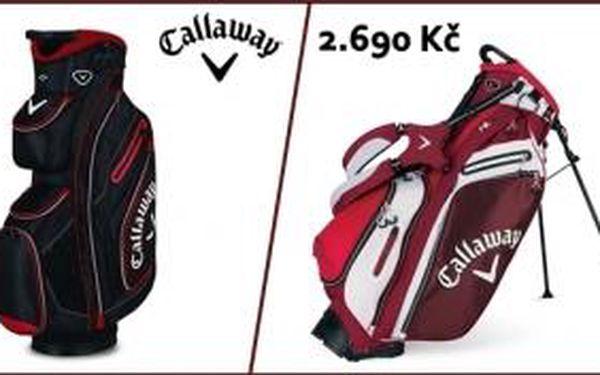 """Špičkové golfové cart i stand bagy Callaway jen za 2690 Kč. Pěkný """"tvrdý dárek"""" pro pány i dámy. Jen pár kousků k dispozici, kdo zaváhá,..."""