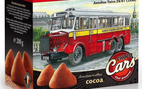 Sweet & Snack Belgické pralinky Choco Cars kakao 200g