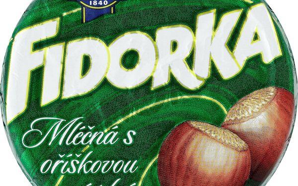 Opavia Opavia Fidorka Oplatka s lískooříškovou náplní v mléčné čokoládě 30g