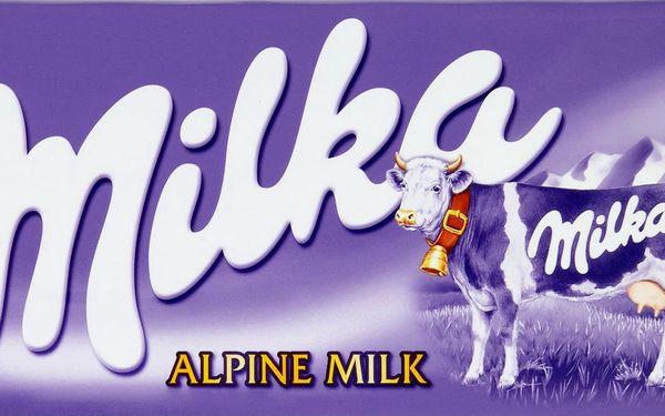 Milka Milka Mléčná čokoláda z alpského mléka 300g