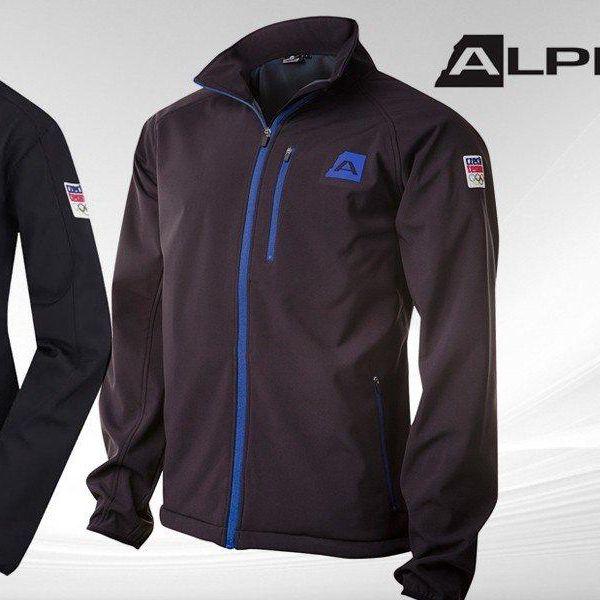 Stylová softshellová bunda Alpine Pro