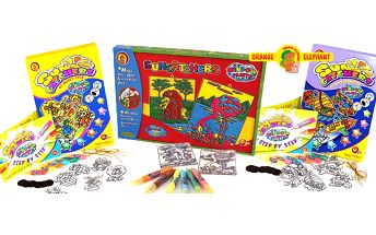 Výtvarné sady pro děti - barvy na sklo