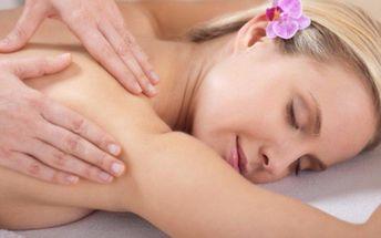Regenerační masáže na uvolnění svalstva