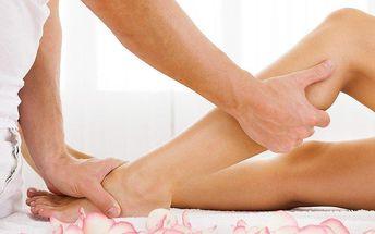 Ruční lymfatická masáž nohou a hýždí