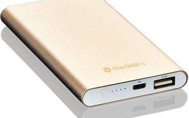 GoGEN 5000 mAh, slim (GOGPB50001M) hliník/zlatá