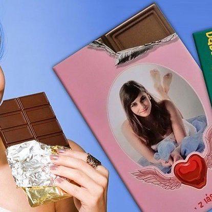 Čtvrtkilová belgická čokoláda s vlastní foto