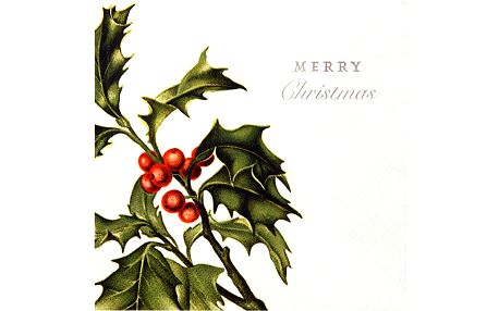 Ubrousky Mery Christmas, 20 kusů