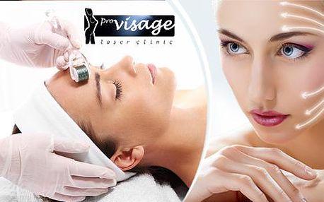 Kosmetický balíček pro redukci vrásek. Mezoterapie, kyselina hyaluronová fotorejuvenace a liftingová maska.