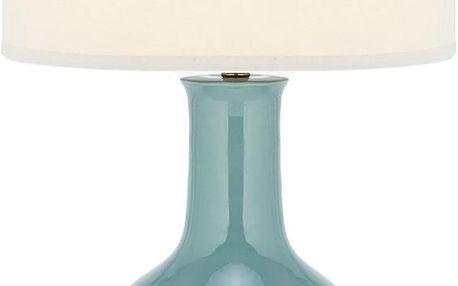 Keramická stolní lampa Paris, modrá - doprava zdarma!