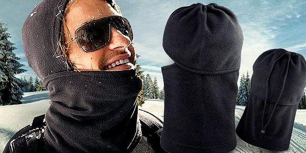 Skvělá fleecová multifunkční kukla! Vyzbrojte se proti mrazům! 100% fleece! Stop červeným uším i nosu!