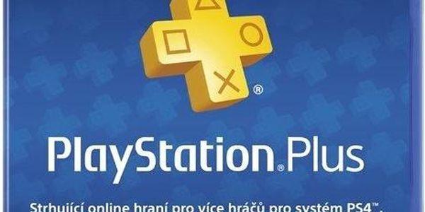 Předplacená karta pro službu PlayStation Plus na 365 dní