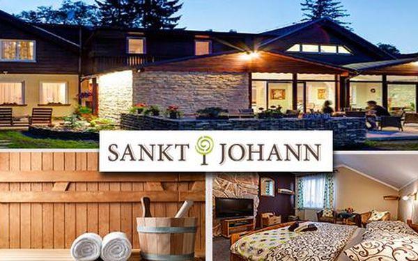 Wellness pobyt pro dva v penzionu Sankt Johann