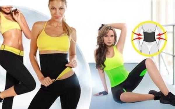 Hubnoucí fitness oblečení pro rychlejší spalování kalorií! Legíny, pás, tílko nebo tričko! Velikosti M - XXL.