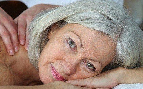 30minutová masáž pro seniory