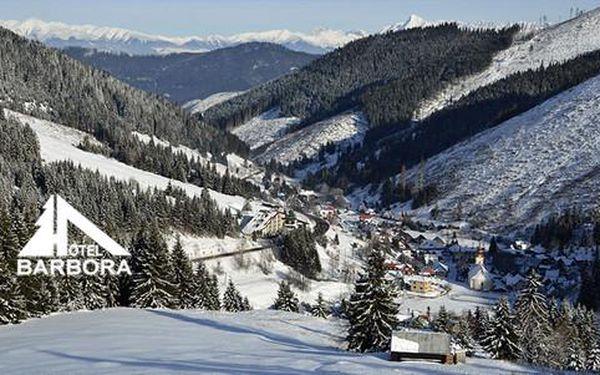 Famózní zima na Liptově v hotelu Barbora ***
