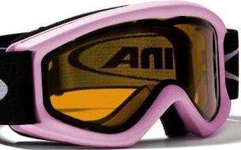 Carat D, A7026.1.58 brýle lyžarské,jr.,Alpina,Rose