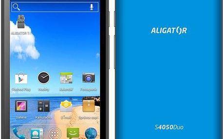 Aligator S4050 Duo ( ) modrý