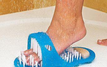 Čistící masážní pantofel