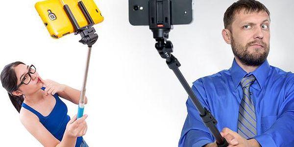 3dílný fotografický selfie set s dálkovým ovladačem spouště pro dokonalé fotky