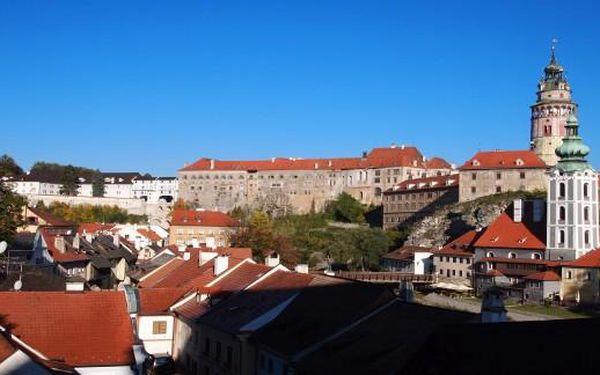 3 dny v Českém Krumlově pro 2 od února do konce dubna