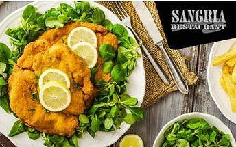 1kg řízkový mix pro 2 až 4 osoby! Kuřecí a vepřové řízky, 300g hranolky a tatarka nebo kečup.