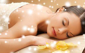 60 minut příjemné aromatické masáže