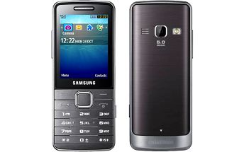 Samsung S5611 - Metal Silver (GT-S5611MSAETL) stříbrný