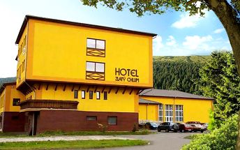3 až 6 dní pro dva s polopenzí a saunou v hotelu Zlatý Chlum*** v Jeseníkách