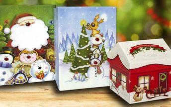 Luxusní belgické pralinky ve vánočním balení