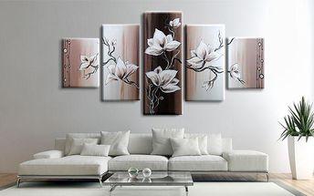 Ručně malované obrazy z více dílů – výběr z 5 motivů