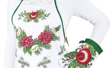 Forbyt Kuchyňská souprava Vánoční pohoda,