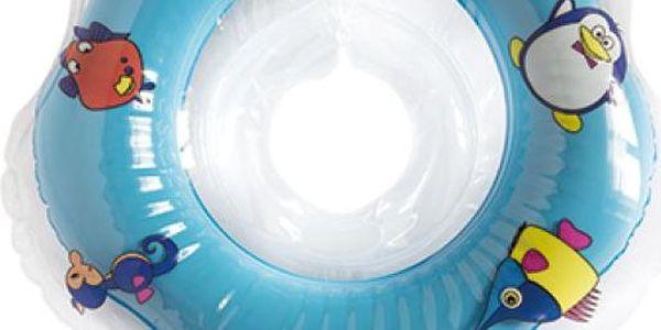 Teddies Plavací nákrčník Flipper modrý
